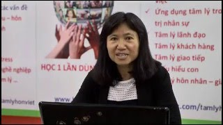 CHUYÊN GIA NÓI GÌ VỀ CÁCH DẠY CON - Tiến sĩ Hoàng Minh Tố Nga