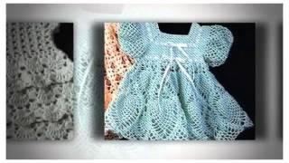 детское платье крючком схема