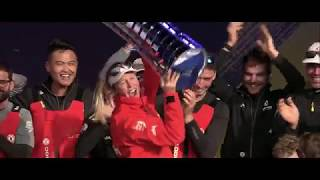 this is what it feels like to win the volvo ocean race