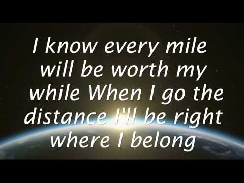 Go The Distance - Michael Bolton (Lyrics) HD