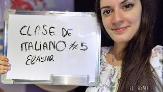 ♡ASMR español♡ CLASE DE ITALIANO #5 (Frases útiles si vienes a Italia)