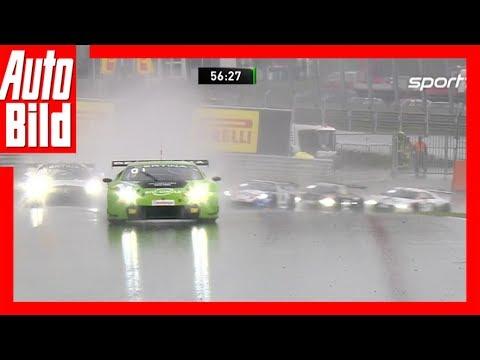 ADAC GT Masters 2017 Regenrennen in Zandvoort