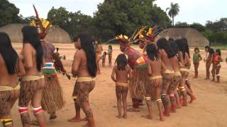 Repeat youtube video Brazil indigenous dance
