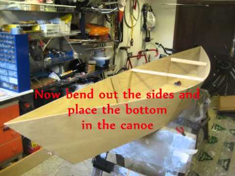 My Homemade Plywood Canoe And How I Build It Youtube