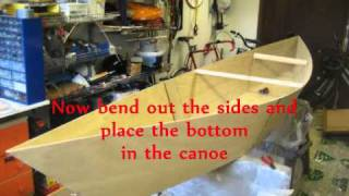 My Homemade Plywood Canoe! (and How I Build It.)