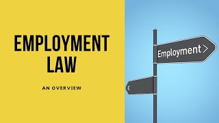 95: An Overview of Employment Law (Monologue)
