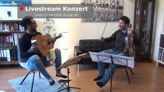 VII. Livestream Konzert - aus dem Wohnzimmer vom ENSEMBLE ROYAL