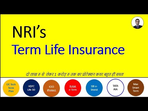 NRI Term Insurance Policy Life Protection Cover - YouTube