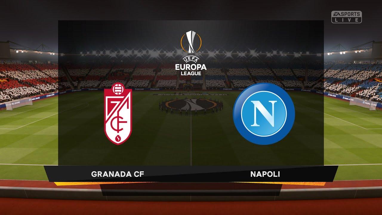 Granada Napoli Uefa Europa League 2020 2021 Efootball Pes 2021 Gameplay Youtube