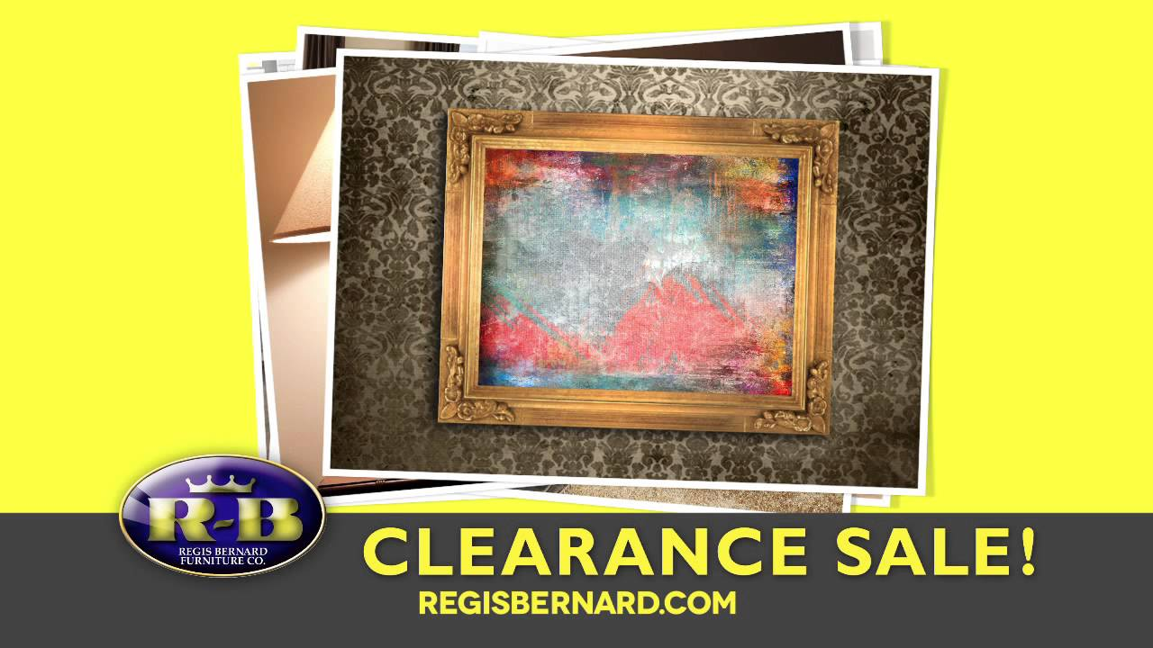 Clearance Sale  Regis Bernard Furniture