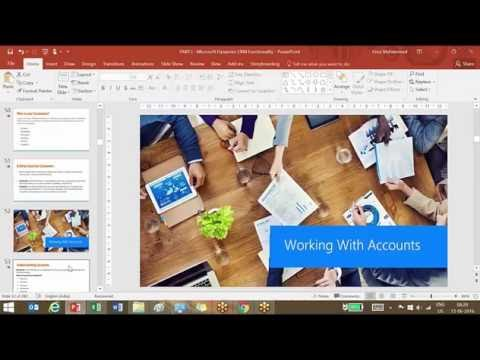 Dynamics CRM Training: Understanding Accounts