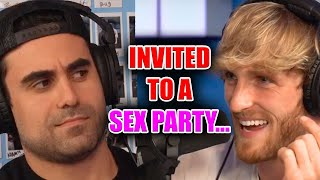 LOGAN PAUL: I WAS INVITED TO A SEX PARTY