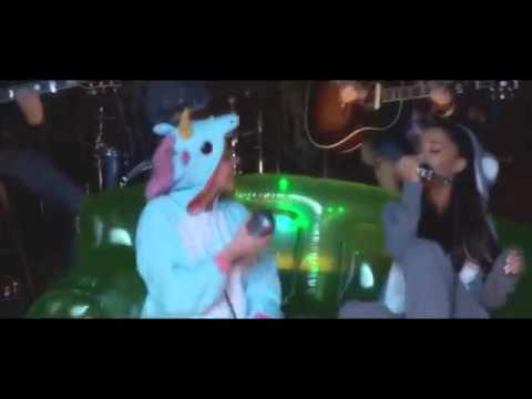 Miley Cyrus - Don't Dream It's Over feat. Ariana Grande ( Music Video)