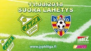11.08.2018 JyPK - Åland United klo 17.30 Naisten Liiga