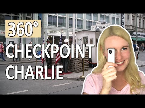 360° Checkpoint Charlie Tour in Berlin