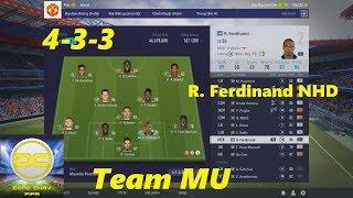 Rio Ferdinand NHD cùng team MU chiến xếp hạng với sơ đồ 433