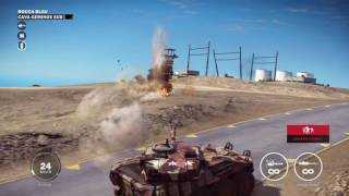 Just Cause 3 tanks Vs base