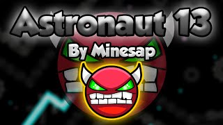 NINE CIRCLES OSCURO! Geometry Dash [2.0] (Medium Demon) - ASTRONAUT 13 by Minesap - GuitarHeroStyles