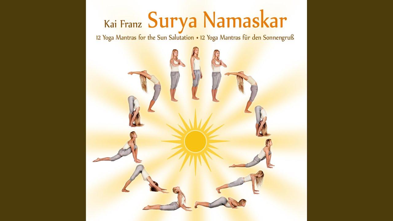 Surya Namaskar Yoga Mantra