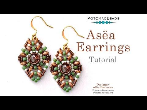 Asëa Earrings Tutorial