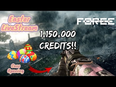 Easter LiveStream- Bullet Force Case Opening (Over 1,152,000 Credits!)