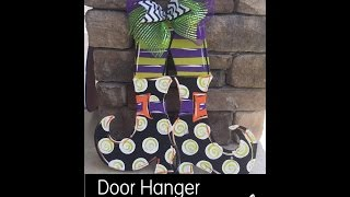 Witch Boots Door Hanger Painting Tutorial