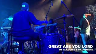 Great Are You Lord - GTSM | BTS DRUM CAM