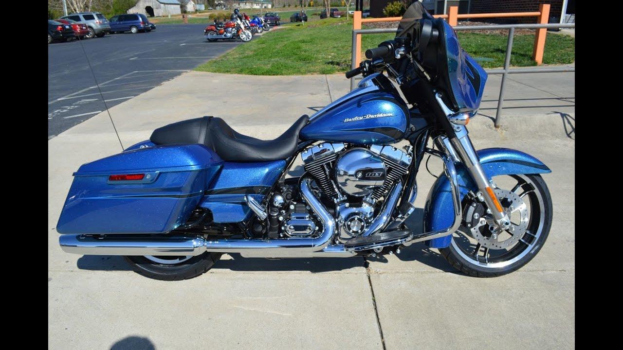Harley Davidson Street Glide Daytona Blue For Sale