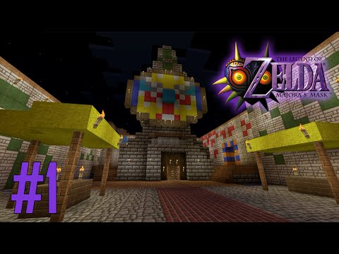 Majoras Mask Legend of Zelda Minecraft Adventure Map - Ep 1 with Download