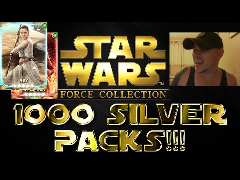 Star Wars - Force Collection #27: 1000 SILVER PACKS!!!