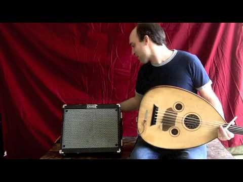 Carmine T. Guida - Electric Oud, Roland Cube Street, Roland AC-33, Crate Limo Comparison