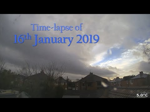 16 January 2019 Time-lapse