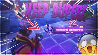 'BRAND NEW' KEEP DUPES GLITCH 2018! 1000 MOONGLOW ORE! (MUST SEE) - Fortnite Save The World