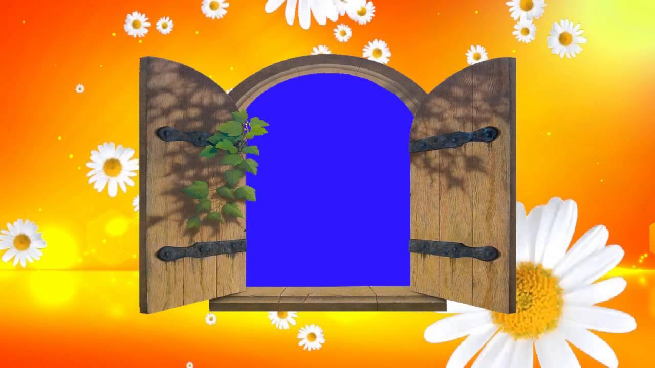 Animated Wedding Video Background Blue Screen Animated