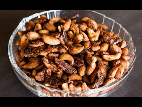 Homemade Chai Spiced Roasted Nuts