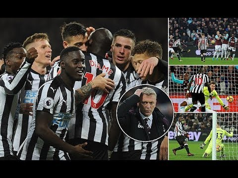 West Ham vs Newcastle United 2-3: Magpies end winless run