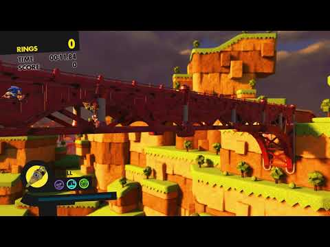Sonic Forces (PS4): Bypass Triggers In Tag Stages