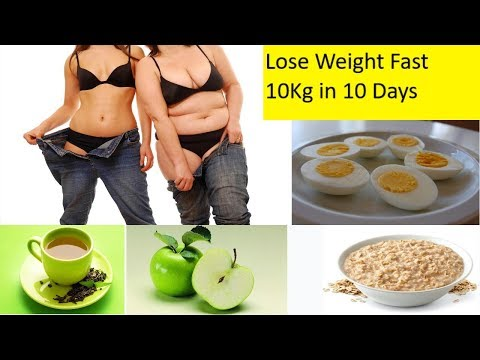 Lose Weight Fast 10Kg in 10 Days fast weight loss in 10 days  Lose Weight Fast