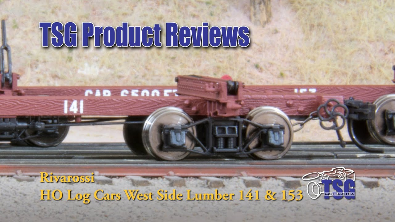 Ho Scale Log Cars Rivarossi Product Review Youtube