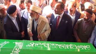 Halil İpek Efendinin cenazesine Başbakan Yardımcısı Bekir Bozdağ da katıldı