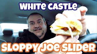 White Castle Sloppy Joe Sliders Food Review