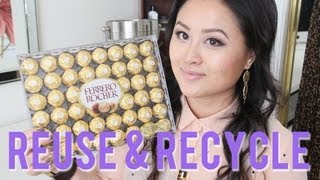 DIY Jewelry & Makeup Storage with Ferrer...