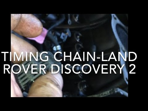 Land Rover discovery 2 timing chain replacement #DIY #cars