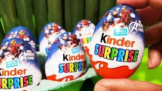 60 Kinder Surprise Eggs Unboxing  ron Man 2015 Kinder Surprise Eggs