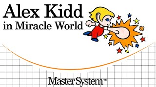 Alex Kidd in Miracle World [Master System]