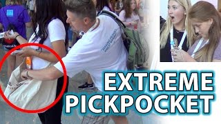 EXTREME PICKPOCKET PRANK! YouTube Fans React