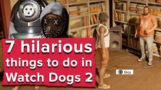 7 hilarious things you can do in Watch Dogs 2 - Watch Dogs 2 PS4 gameplay