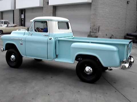 Gmc Vs Chevy >> 1956 chevy napco 4x4 truck 3 - YouTube