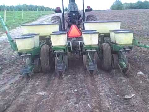 First Pass Planting Corn Youtube