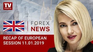 11.01.2019: EUR and GBP extending gains despite headwinds